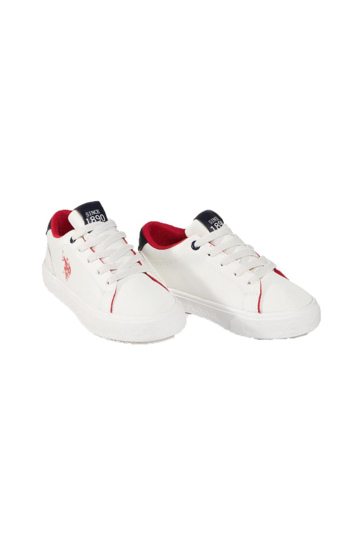 Παιδικό Παπούτσι U.S. POLO ASSN. ELIOT-KIDS Άσπρο