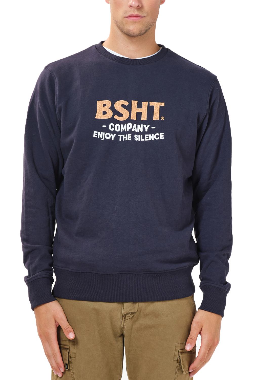 Ανδρική Μπλούζα BASEHIT 202.BM20.18 NAVY BLUE Μπλε