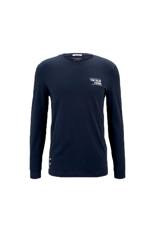 Ανδρική Μπλούζα TOM TAILOR 1021289.00.12 Navy