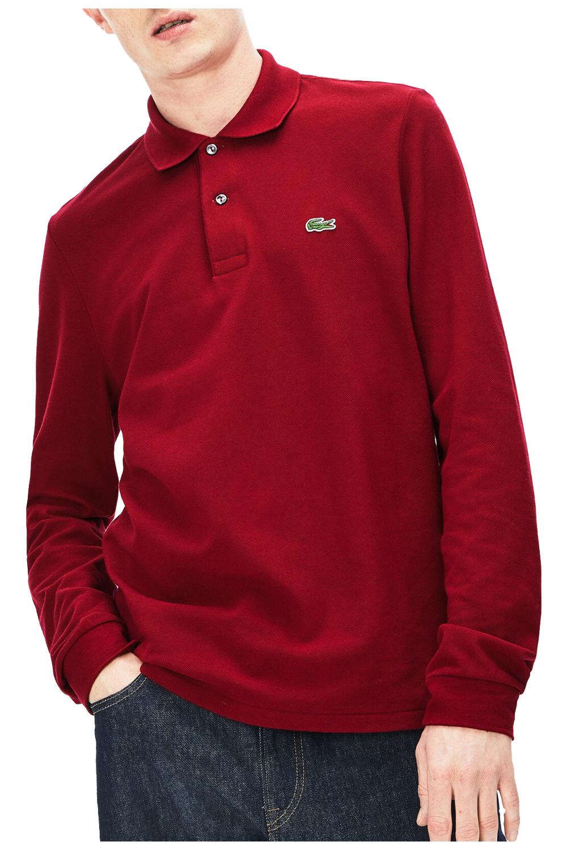 Ανδρική Μπλούζα LACOSTE L1312-476 Κόκκινο