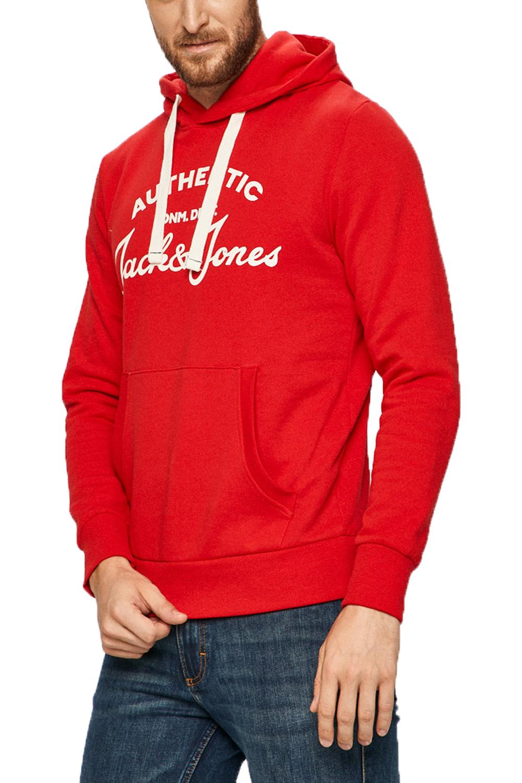 Ανδρικό Φούτερ JACK&JONES 12175062 Κόκκινο