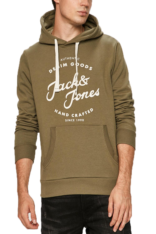 Ανδρικό Φούτερ JACK&JONES 12175062 Χακί
