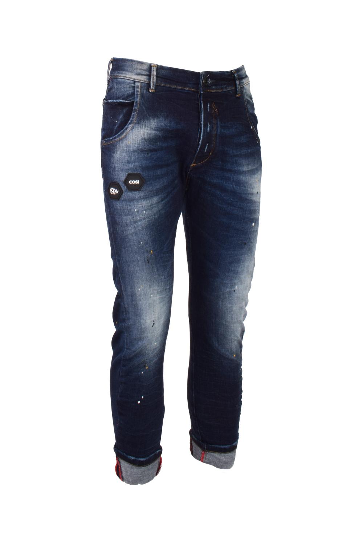Ανδρικό Παντελόνι Τζίν COSI 56-BENTLEY7 Σκούρο