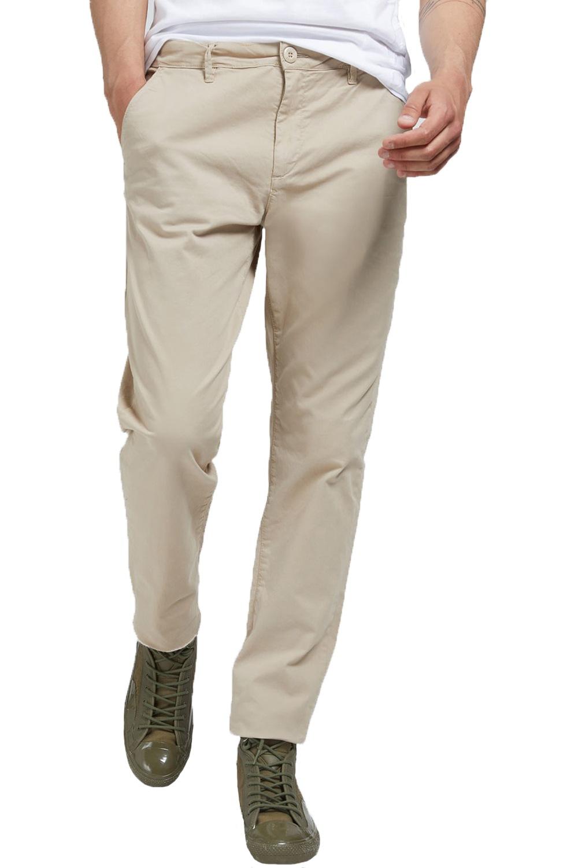Ανδρικό Παντελόνι GUESS M02B29WCRK1-INCS Μπεζ