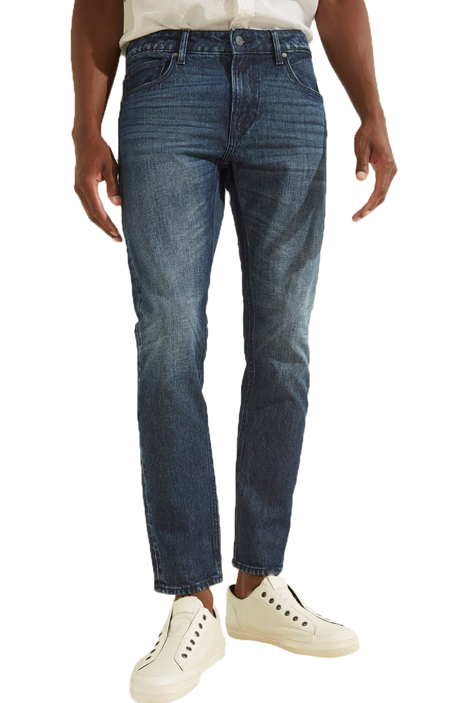 Ανδρικό Παντελόνι GUESS MOYA27D4321-CHRIS Τζιν Σκούρο