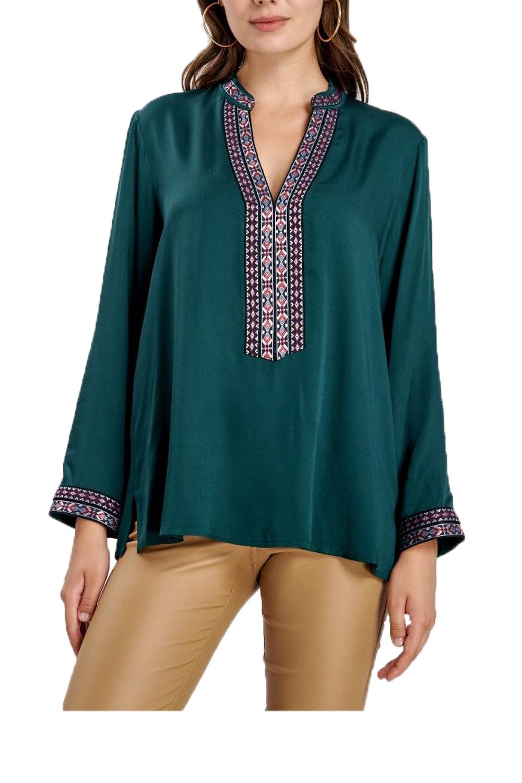 Γυναικεία Μπλούζα NADIA CHALIMOU 40094 Πράσινη