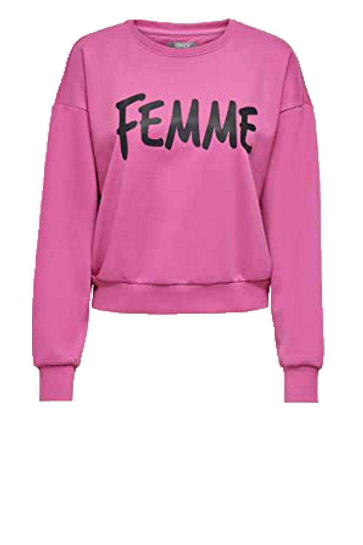Γυναικεία Μπλούζα ONLY 15216414 Ροζ