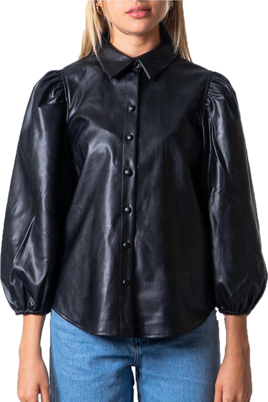 Γυναικείο Πουκάμισο ONLY 15213589 Μαύρο