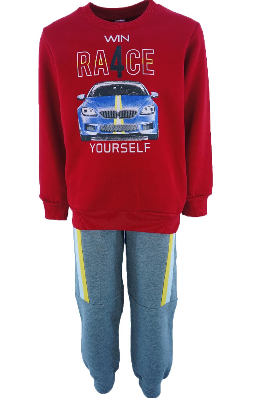 Παιδικό Σετ Φόρμα για Αγόρι JOYCE 202210 Κόκκινο