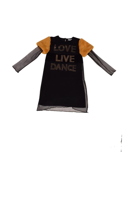 Παιδικό Φόρεμά για Κορίτσι BEST GIRLS 4429 μαύρο