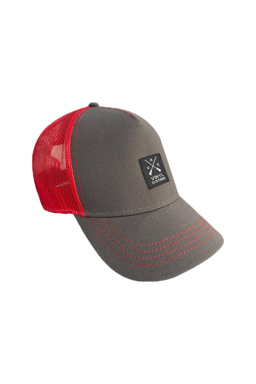 Ανδρικό Καπέλο VINYL 537 Γκρι