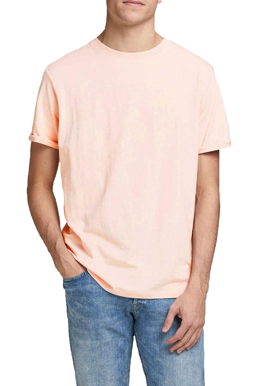 Ανδρική Μπλούζα JACK&JONES 12183777 Μπεζ