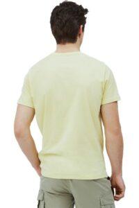 Ανδρική Μπλούζα PEPE JEANS PM500465 Κίτρινο