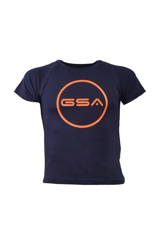 Παιδική Μπλούζα GSA 17-39003 Navy-Πορτοκαλί