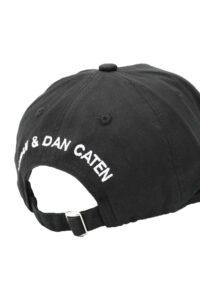 Ανδρικό Καπέλο DSQUARED2 BCM00285C00001M063 Μαύρο