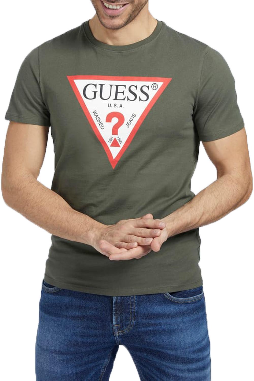 Ανδρική Μπλούζα GUESS M1RI71I3Z11-G8F6 Χακί