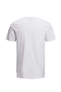 Ανδρική Μπλούζα JACK&JONES 12136714 Άσπρο
