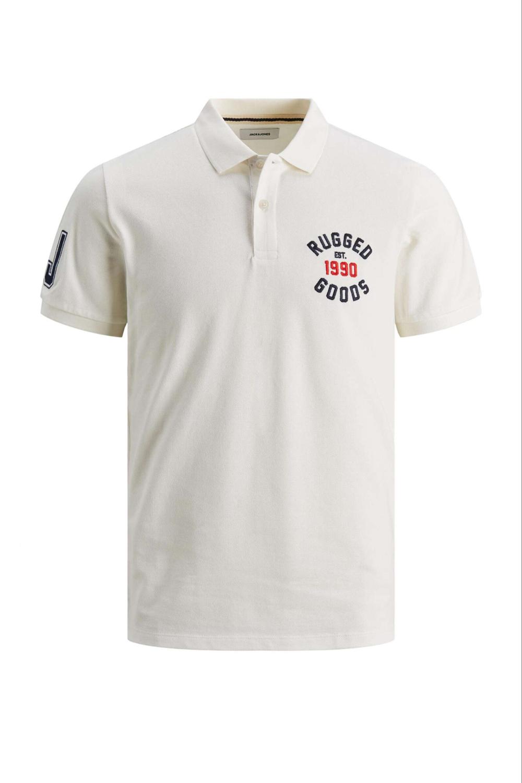 Ανδρική Μπλούζα JACK&JONES 12183011 Άσπρο
