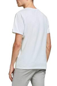 Ανδρική Μπλούζα JACK&JONES 12183777 Άσπρο