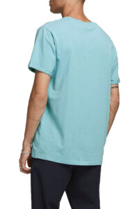 Ανδρική Μπλούζα JACK&JONES 12183777 Σιελ