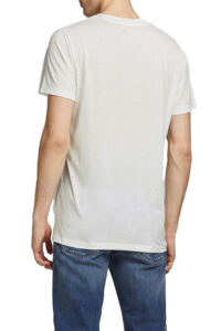 Ανδρική Μπλούζα JACK&JONES 12186758 Άσπρο