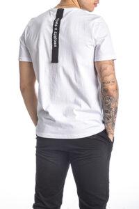 Ανδρική Μπλούζα PACO&CO 213510 Άσπρο