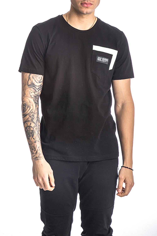 Ανδρική Μπλούζα PACO&CO 213510 Μαύρο