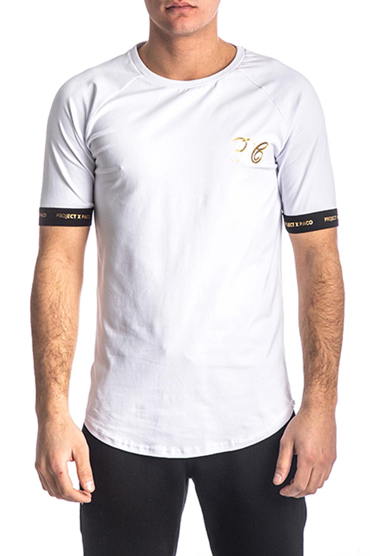 Ανδρική Μπλούζα PACO&CO 213586 Άσπρο