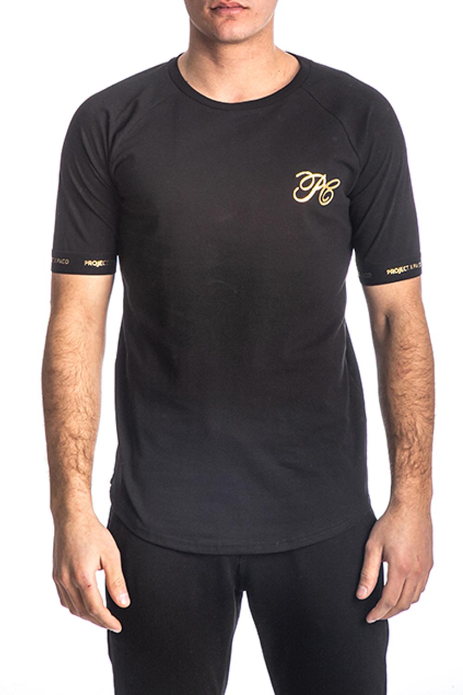 Ανδρική Μπλούζα PACO&CO 213586 Μαύρο