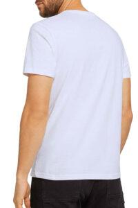 Ανδρική Μπλούζα TOM TAILOR 1021229.XX.10 Άσπρο