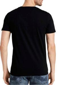 Ανδρική Μπλούζα TOM TAILOR 1021229.XX.10 Μαύρο