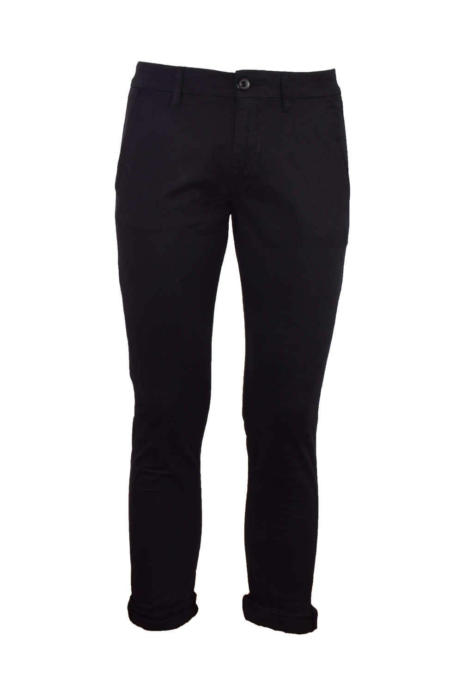 Ανδρικό Παντελόνι GUESS M1RB29WCNZ4-JBLK Μαύρο