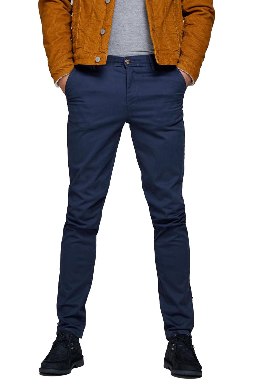 Ανδρικό Παντελόνι JACK&JONES 12150148 Navy