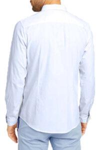 Ανδρικό Πουκάμισο TOM TAILOR 1023881.XX.10 Άσπρο