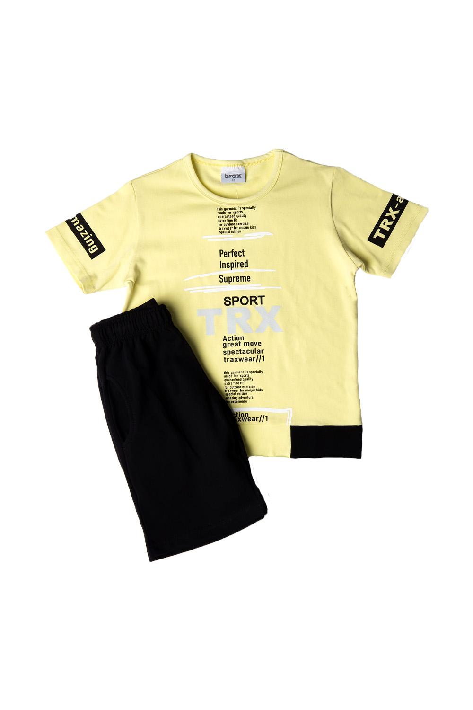 Παιδικό Σετ Σορτς Για Αγόρι TRAX 39328 Κίτρινο