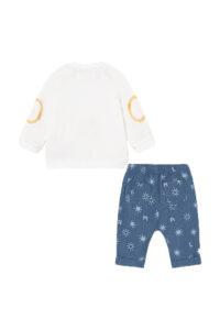 Παιδικό Σετ Παντελόνι Για Αγόρι MAYORAL 21-01568-005 Ανοιχτό