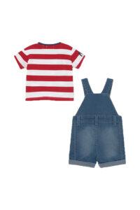 Παιδικό Σετ Σαλοπέτα Για Αγόρι MAYORAL 21-01655-004 Κόκκινο