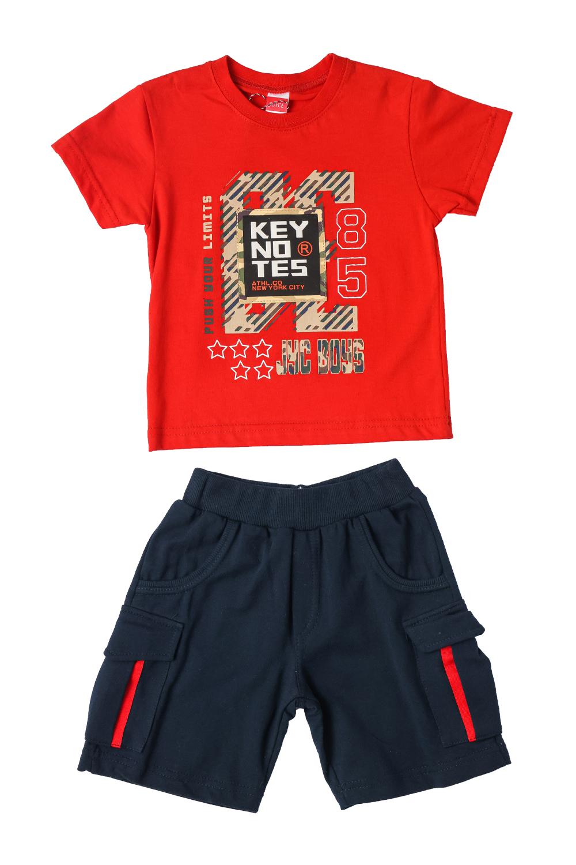 Παιδικό Σετ Σορτς Για Αγόρι JOYCE 211367 Κόκκινο