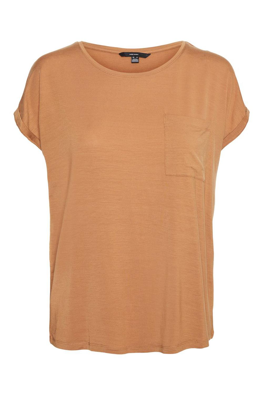 Γυναικεία Μπλούζα VERO MODA 10243936 Καφέ