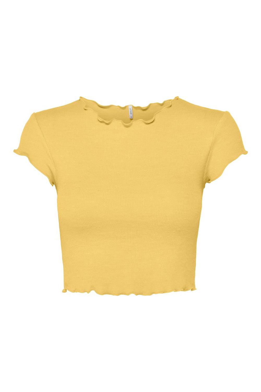 Γυναικείο Τοπ ONLY 15202041 Κίτρινο
