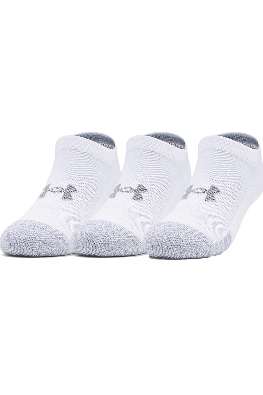 Ανδρικό Σετ 3 Ζευγάρια Κάλτσες UNDER ARMOUR 1346754 Άσπρο