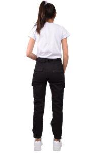 Γυναικείο Cargo Παντελόνι LS299 Μαύρο
