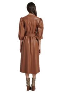 Γυναικείο Φόρεμα PASSAGER 70085 Καφέ