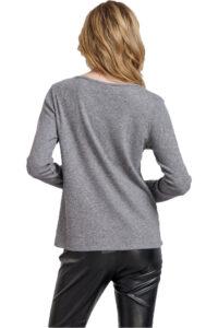 Γυναικεία Μπλούζα NADIA CHALIMOU 40284 Γκρι