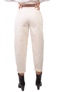 Γυναικείο Παντελόνι 93013 Άσπρο
