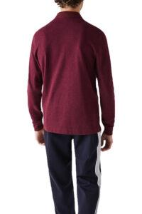 Ανδρική Μπλούζα LACOSTE PH2481-SXL Μπορντό
