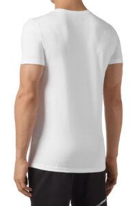 Ανδρική Μπλούζα PLEIN SPORT A19C-MTK3802-SJY001N-01 Άσπρη