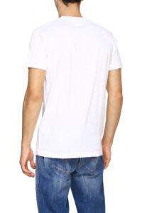 Ανδρική Μπλούζα DSQUARED2 S74GD0563-S22427 Άσπρο