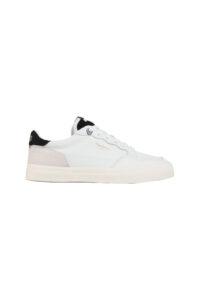Ανδρικό Παπούτσι PEPE JEANS PMS30672-800 Άσπρο