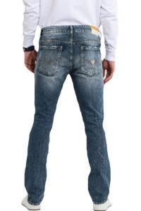 Ανδρικό Παντελόνι GUESS M02AN2D3ZJ2 Τζιν Σκούρο